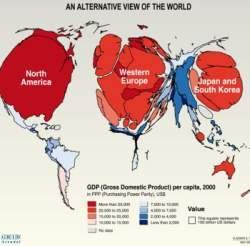 Alternative view of world